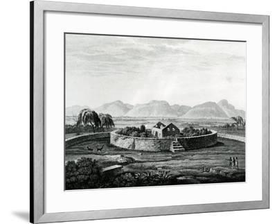 Peruvian Monument of Canar-Friedrich Alexander Humboldt-Framed Giclee Print