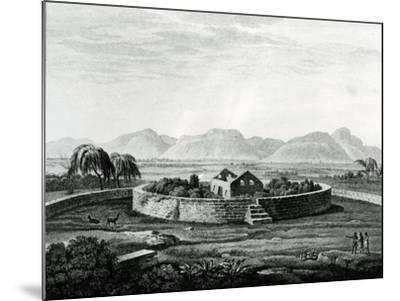 Peruvian Monument of Canar-Friedrich Alexander Humboldt-Mounted Giclee Print