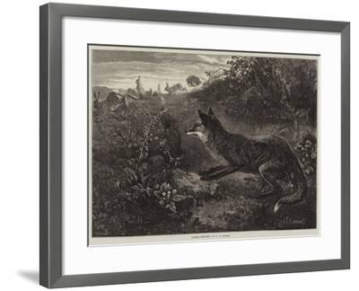 Gambols Disturbed-George Bouverie Goddard-Framed Giclee Print