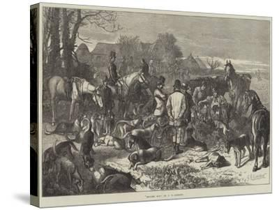 Digging Out-George Bouverie Goddard-Stretched Canvas Print