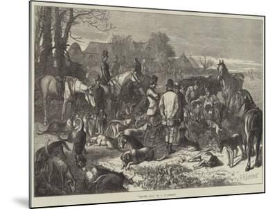 Digging Out-George Bouverie Goddard-Mounted Giclee Print