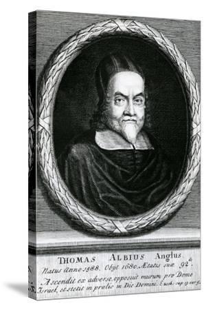 Portrait of Thomas Albius (White) (1588-1680), 1713-George Vertue-Stretched Canvas Print