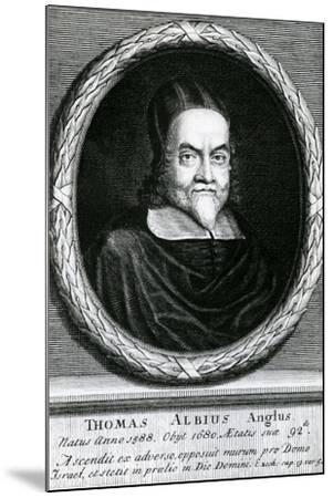 Portrait of Thomas Albius (White) (1588-1680), 1713-George Vertue-Mounted Giclee Print