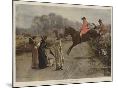 The Cry Is Still They Come-George Goodwin Kilburne-Mounted Giclee Print