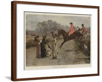 The Cry Is Still They Come-George Goodwin Kilburne-Framed Giclee Print