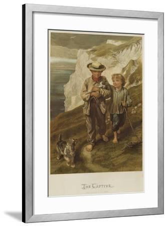 The Captive-George Housman Thomas-Framed Giclee Print