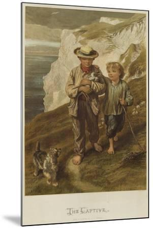The Captive-George Housman Thomas-Mounted Giclee Print