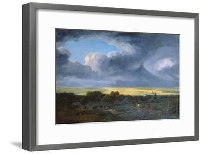 Stormy Landscape, 1795-Georges Michel-Framed Giclee Print