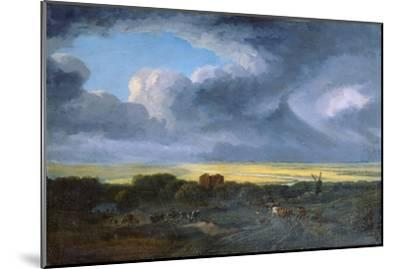 Stormy Landscape, 1795-Georges Michel-Mounted Giclee Print