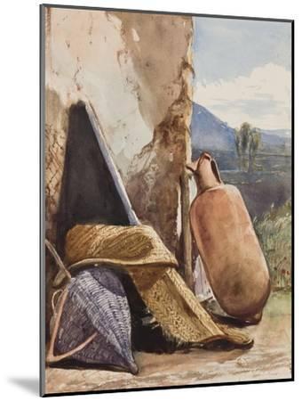 Baskets and Amphora-Giacinto Gigante-Mounted Giclee Print