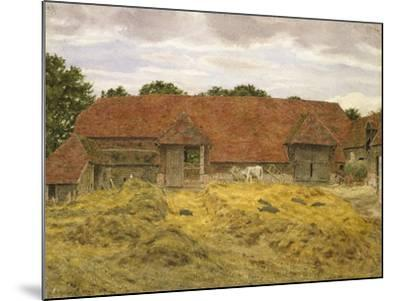 Red Barn at Whitchurch, 1868-George Price Boyce-Mounted Giclee Print