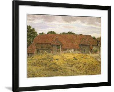 Red Barn at Whitchurch, 1868-George Price Boyce-Framed Giclee Print