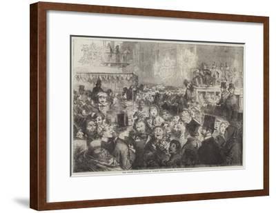 The Peace Illuminations, a Street Scene-George Housman Thomas-Framed Giclee Print