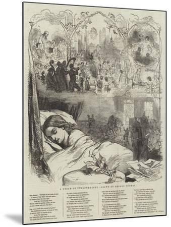 A Dream of Twelfth-Night-George Housman Thomas-Mounted Giclee Print