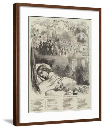 A Dream of Twelfth-Night-George Housman Thomas-Framed Giclee Print