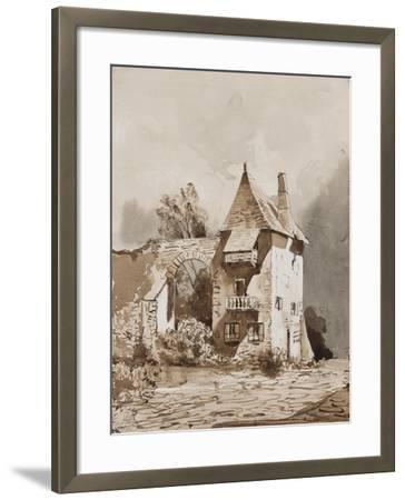 Picturesque Gateway-Giacinto Gigante-Framed Giclee Print