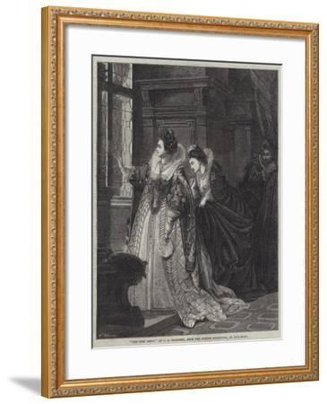 The Curt Reply-George Frederick Folingsby-Framed Giclee Print