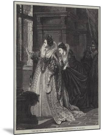 The Curt Reply-George Frederick Folingsby-Mounted Giclee Print
