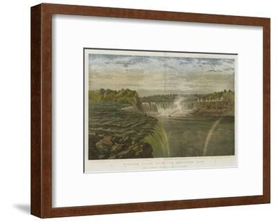 Niagara Falls from the American Side-George Henry Andrews-Framed Giclee Print