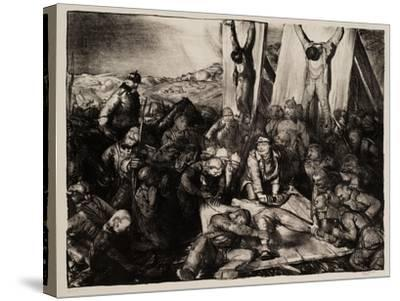 Gott Strafe England, 1918-George Wesley Bellows-Stretched Canvas Print
