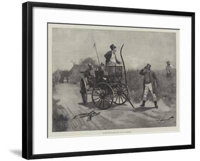 On the Way to the Poll-George L. Seymour-Framed Giclee Print