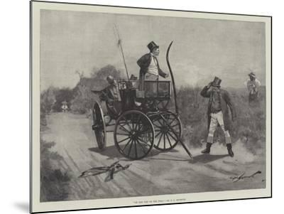 On the Way to the Poll-George L. Seymour-Mounted Giclee Print