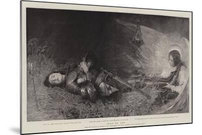 Joan of Arc-George William Joy-Mounted Giclee Print