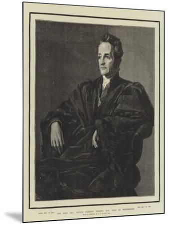 The Very Reverend Arthur Penrhyn Stanley, Dean of Westminster-George Frederick Watts-Mounted Giclee Print