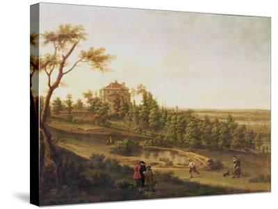 Westcombe House, Blackheath-George Lambert-Stretched Canvas Print