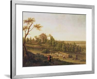 Westcombe House, Blackheath-George Lambert-Framed Giclee Print