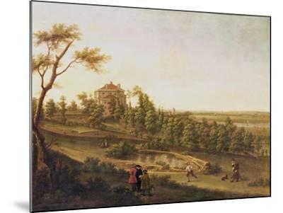 Westcombe House, Blackheath-George Lambert-Mounted Giclee Print