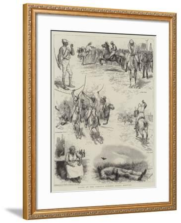 Races at the Jamaica Summer Grand Meeting-Godefroy Durand-Framed Giclee Print