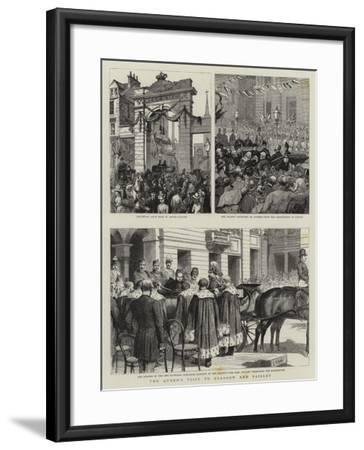 The Queen's Visit to Glasgow and Paisley-Godefroy Durand-Framed Giclee Print