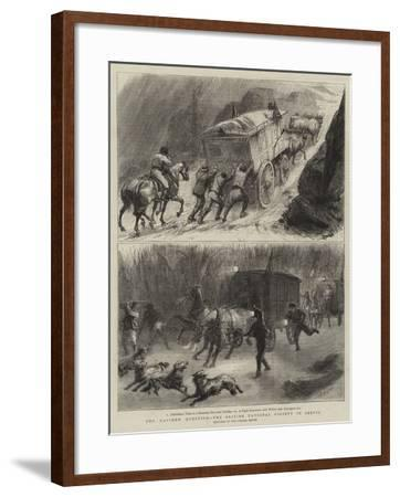 The Eastern Question, the British National Society in Servia-Godefroy Durand-Framed Giclee Print