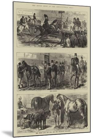 The Horse Show at the Agricultural Hall-Godefroy Durand-Mounted Giclee Print