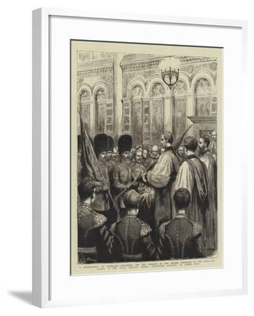 A Reminiscene of Waterloo-Godefroy Durand-Framed Giclee Print