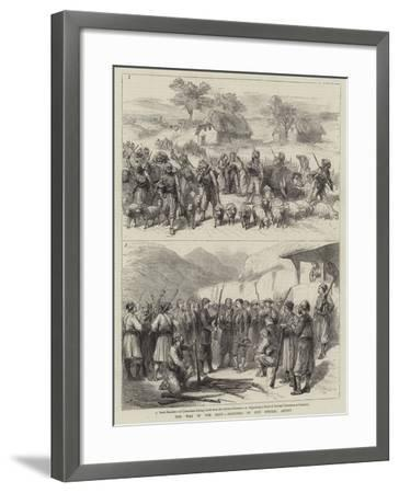 The War in the East-Godefroy Durand-Framed Giclee Print