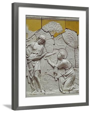 Appearance of Jesus to Mary Magdalene-Giovanni Francesco Rustici-Framed Giclee Print