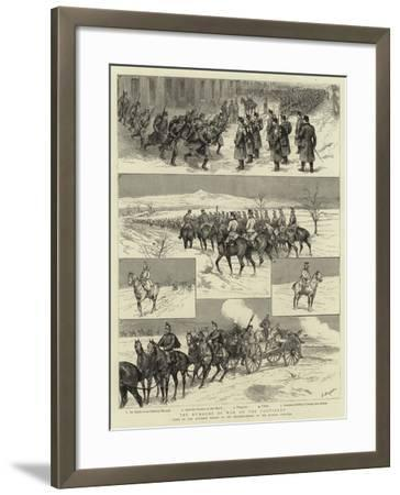 The Rumours of War on the Continent-Godefroy Durand-Framed Giclee Print