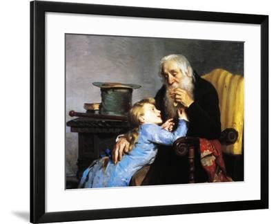 Memory of Grandfather-Giovanni Pezzotta-Framed Giclee Print