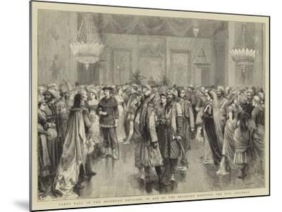Fancy Ball in the Brighton Pavilion, in Aid of the Brighton Hospital for Sick Children-Godefroy Durand-Mounted Giclee Print
