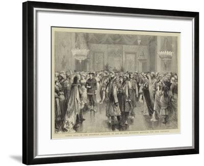 Fancy Ball in the Brighton Pavilion, in Aid of the Brighton Hospital for Sick Children-Godefroy Durand-Framed Giclee Print
