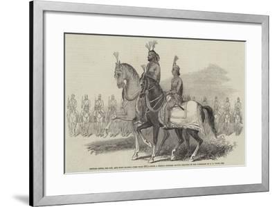 Gholab Singh, His Son, and Body Guard-Godfrey Thomas Vigne-Framed Giclee Print