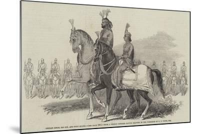 Gholab Singh, His Son, and Body Guard-Godfrey Thomas Vigne-Mounted Giclee Print