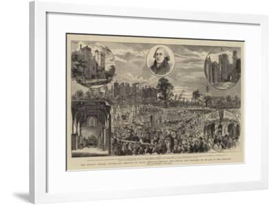 The Sunday School Centenary-Godefroy Durand-Framed Giclee Print