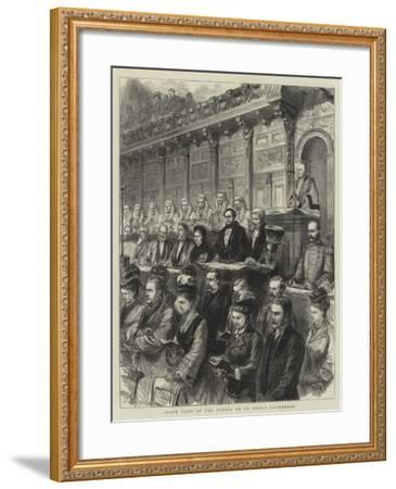 State Visit of the Judges to St Paul's Cathedral-Godefroy Durand-Framed Giclee Print