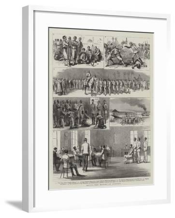 Egypt, the Mutiny at Assiout-Godefroy Durand-Framed Giclee Print