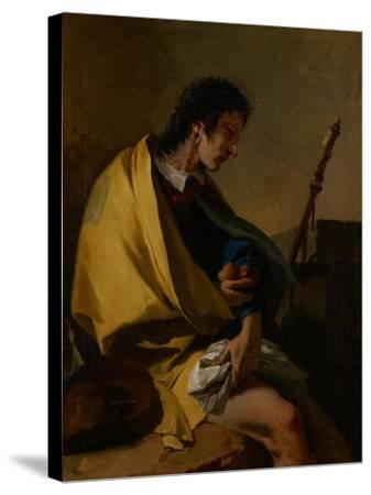 Saint Roch, C.1730-35-Giovanni Battista Tiepolo-Stretched Canvas Print