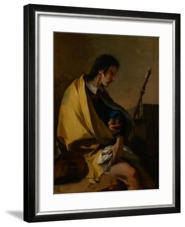 Saint Roch, C.1730-35-Giovanni Battista Tiepolo-Framed Giclee Print