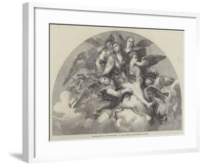 The Assumption of the Magdalen-Giulio Romano-Framed Giclee Print